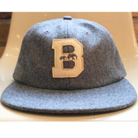 "The BROOKLYN CIRCUS Felt ""B"" Base Ball Cap"