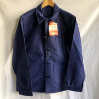 "60's Ink Blue Moleskin Coverall Dead Stock Made by ""BUTTON le CABLE""/3"