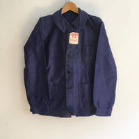 30's〜40's Le Mont Rouge Ink Blue Moleskin Coverall Dead Stock
