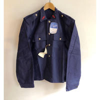 """50's French Firefighter Moleskin Coverall Dead Stock Made from """"Le Catalan"""""""