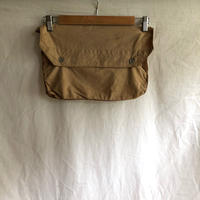 Later1930's〜1940's French Military Cotton Musette Bag Beige Color