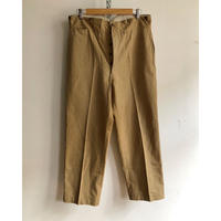 "1940's ""PTT"" Postman Chino Trousers With Back Cinch Dead Stock"