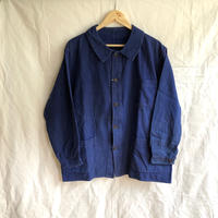 1950's Wood Button Cotton Twill Workwear