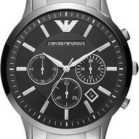 EMPORIO ARMANI メンズ 腕時計 AR2460 全面ガラスコーティング品