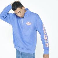 <BLUE 最新号掲載商品> XHZ-SLASH  ハーフジップジャケット