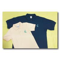 ズーラシアンブラス ポロシャツ<ワンポイント刺繍>