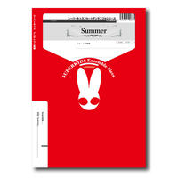 FLmm006 楽譜『Summer』(フルート四重奏)