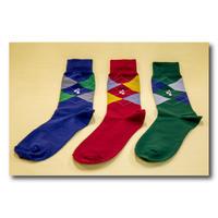 ズーラシアンブラス紳士用靴下(3足セット)