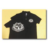 ズーラシアンブラス ポロシャツ<エンブレムプリント黒>