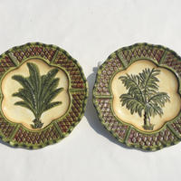 CENTRUM CARAVAN Palm Tree Salad Plate Set