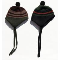 Ear Flap Knit Cap