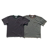 Multi Border S/S Pocket Tee