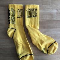 ゴセットテープロゴソックス(yellow)