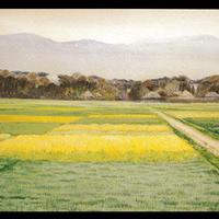 絵はがき:田園風景