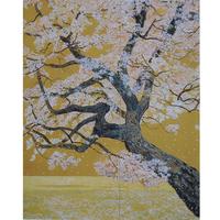 桜花浄苑雙図 6面のポストカード