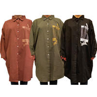 Long-Shirts&2Pin Badge SET -99th Music bar bar.-
