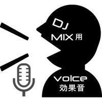 DJ MIX用効果音8(Voice)※)パソコンからダウンロードしてください