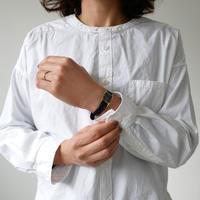 UNIVERSAL TISSU ユニヴァーサルティシュ バンドカラーワーキングシャツ  UT180SH074