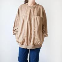 HARVESTY  ハーベスティ |  EGG PULL OVER SHIRTS  エッグプルオーバーシャツ | BEIGE | A41801|