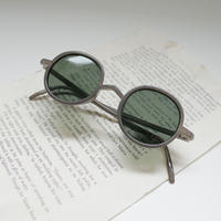 ciqi シキ Gordon Sunglasses ゴードン サングラス Steel / Green Lens