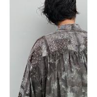 FACCIES「Tiedye Lace Up Bandana Shirt」black.