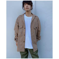 ETHOS「NOODS CHECK SHIRTS」 beige check.