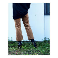 DOMENICO+SAVIO「CORDUROY FLARE PANTS」