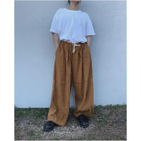 FACCIES「S/L Super wide pants」orange.