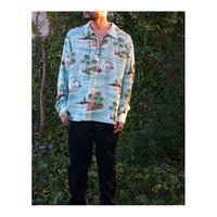 Black Weirdos「Lace Up Aloha  Shirt」