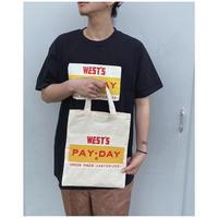 WESTOVERALLS × PAYDAY 「TEE」black.