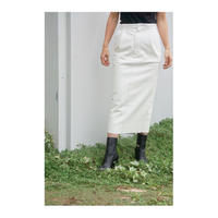 HOLIDAY「FAKE LEATHER SKIRT」