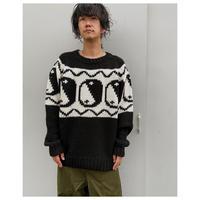BLACK WEIRDOS「Yin-Yang Sweater」