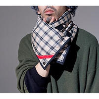 PHINGERIN「SQUARE WARMER BLAID」