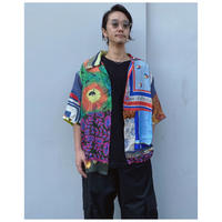 BASSCOUTUR「RECYCLE SCARF SHIRT」