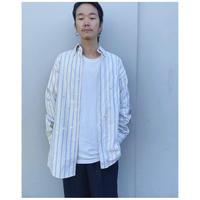 MALION vintage × g.l.c. 「 US stripe paint shirts」A
