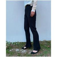 DOMENICO+SAVIO「knit flare pants」