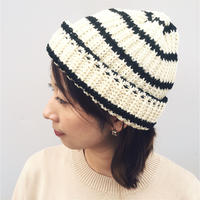 SON OF THE CHEESE  「BORDER KNIT CAP」 white border