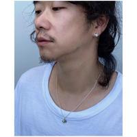 BLACK  WEIRDOS「OM Silver Earrings (pierce)」