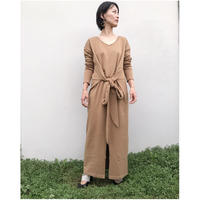 DOMENICO+SAVIO「BELTED SWEAT DRESS」