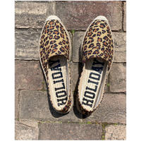 HOLIDAY「DOUBLE SOLE ESPADRILLE」 LEOPARD