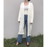 TAN. 「LACY LONG CARDIGAN」