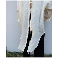ERIKOKATORI「Big Pocket Back Open shirts」ivory.