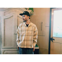 SON OF THE CHEESE 「Long flannel shirts」
