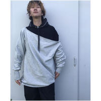 BASSCOUTUR「DOUBLE HOODIE」