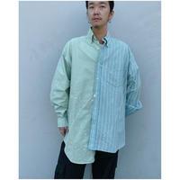 MALION vintage × g.l.c.  「US stripe paint shirts 」T