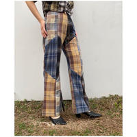 MALION vintage「nell check pants」