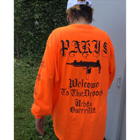 Black Weirdos 「PARIS _ L/S Tee」