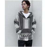 BLACK WEIRDOS「Baja Hoodie knit」