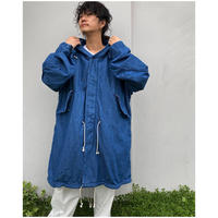 WEST OVER ALLS「M-2020 LINING PARKA DENIM」