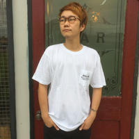 Black Weirdos 「RIP Pocket tee」 white